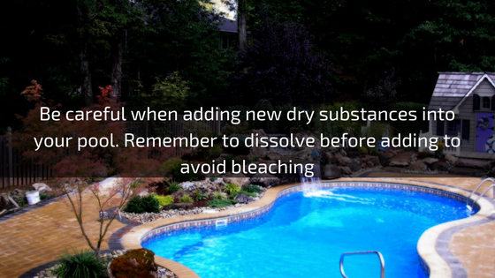 bleaching troubleshooting pools guide 25 most common pool water problems ultimate how to step by step