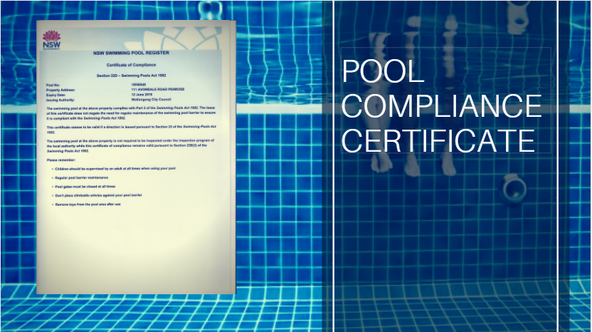 pool safety compliance certificate